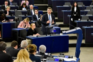 Plenary session - Week 06 2018 in Strasbourg - Debate with the Prime Minister of Croatia on the Future of Europe