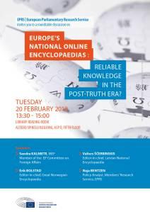Europe's online encyclopaedias