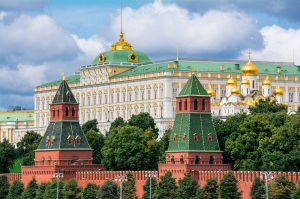 View to Moscow Kremlin