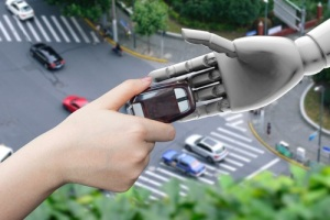 Artificial intelligence (AI) advisor or robo-adviser in smart car self drive mode