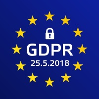 GDPR - General Data Protection Regulation. Vector illustration.