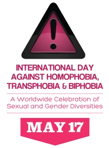 International Day Against Homophobia, Transphobia and Biphobia (IDAHOT)
