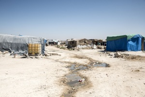 Syrian unofficial refugee camp in Reyhanli. This camp is for syrian people from Idlib, Aleppo and Rakka. September 9, 2017, Reyhanli, Turkey.