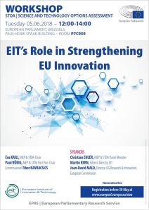 EIT's role in Strengthening EU Innovation