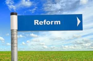 Reform sign