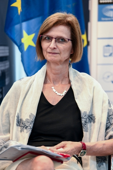 EPRS' Head of the Scientific Foresight Service, Lieve Van Woensel