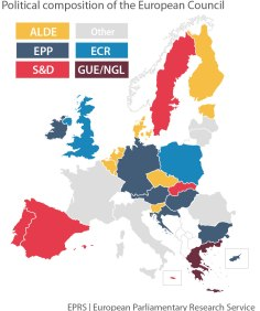 political affiliation of current EU Heads of State or Government