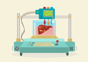 3D Bioprinter. Human Organs replicated.