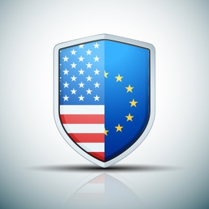 USA-EU shield sign