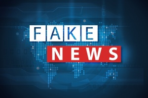 fake news and misinformation on internet concept