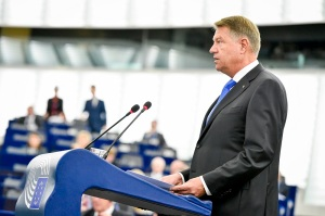 EP plenary session - Debate with the President of Romania on the Future of Europe