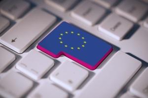 Composite image of european union flag