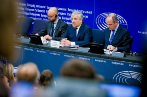 Press conference on the launch of the new website ' WHAT EUROPE DOES FOR ME