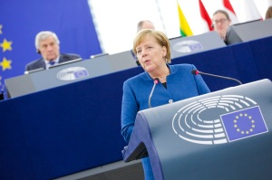 EP plenary session - Debate with German Chancellor Angela MERKEL, on the Future of Europe