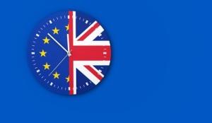 Brexit Clock Concept