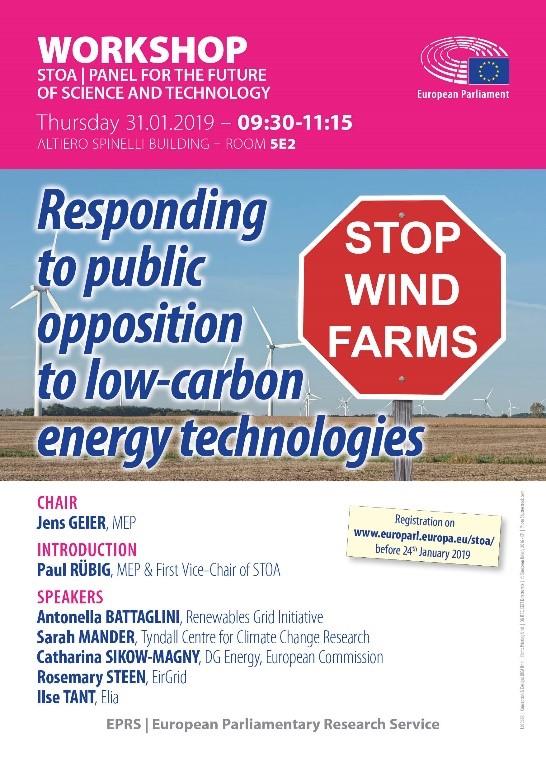 responding to public opposition to low-carbon energy technologies
