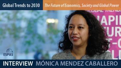 ESPAS 2018: Interview with Mónica MENDEZ CABALLERO