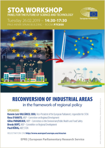 reconversion of industrial areas
