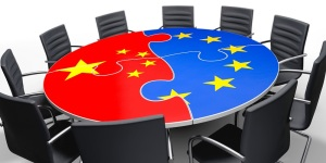 China und Europa am Verhandlungstisch