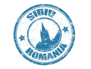 Sibiu - Romania stamp