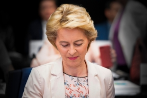 Meeting of the EP Conference of Presidents in presence of Ursula von der LEYEN - President-elect of the European Commission