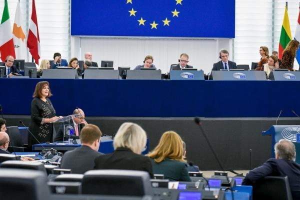 European Parliament Plenary Session – December 2020