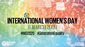 International Women's Day 2020 Logo