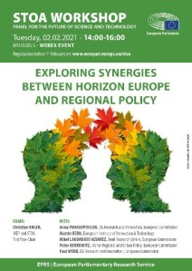 Exploring synergies between the Horizon Europe and regional policy